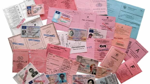 permis de conduire européens