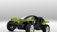Photo 3 : Fiat FFC II Concept : buggy électrique