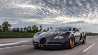 Calendrier Mansory 2014 - Janvier - Bugatti Veyron Linea d'Oro