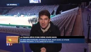 Coupe Davis : les supporters français attendus au Stade Pierre Mauroy