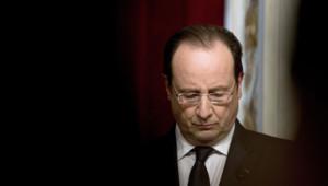 François Hollande le 23 janvier 2014 à l'Elysée