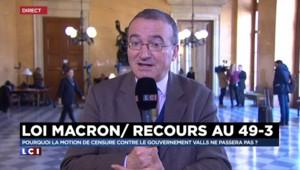 """Hervé Mariton : """"Ce gouvernement mérite d'être censuré"""""""