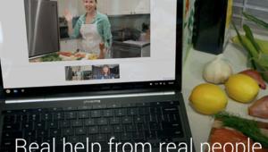 """La plate-forme de Google présentée comme une """"aide réelle donnée par des personnes réelles""""."""