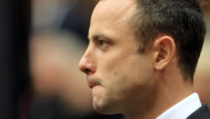 Oscar Pistorius au premier jour de son procès, le 3 mars 2014.