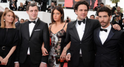 Swann Arlaud, Sarah Le Picard, Cedric Kahn, Tahar Rahim, Elie Wajeman, Adele Exarchopoulos, Guillaume Gouix et Emilie de Preissac Cannes Mai 2015