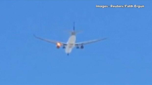Un de ses réacteurs prend feu, un Airbus de Qatar Airways contraint d'atterrir en urgence