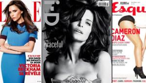 Victoria Beckham, Stephanie Seymour et Cameron Diaz à la Une de magazine en octobre 2012