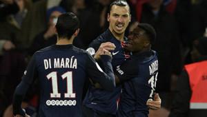 Zlatan Ibrahimovic PSG Lyon
