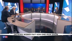 """Jacques Weber sur scène et au cinéma en même temps : """"Une nouvelle voie qui m'intrigue"""""""