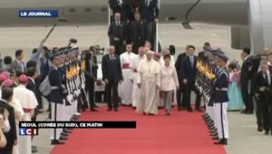 Le pape est arrivé à Séoul