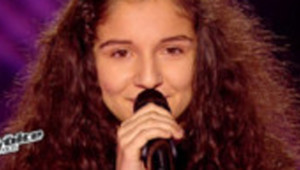 Naya a ému les coachs dans le troisième et dernier épisode des auditions à l'aveugle de The Voice Kids diffusé le 6 septembre 2014 sur TF1