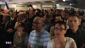 """Sarkozy : """"L'unité, l'union avec le centre ont permis ces résultats"""""""