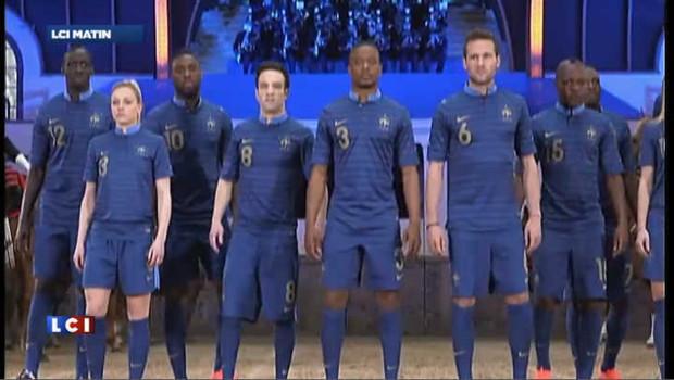 Voici le nouveau maillot des Bleus pour l'Euro