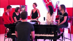 EXCLU : Les teams Florent et Jenifer complices pour leur concert acoustique