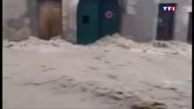 A Saint-Parguoire dans l'Hérault, l'eau a tout emporté : vidéo amateur