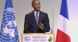 COP 21 : Obama à la tribune (30/11)