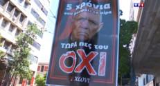 Le 20 heures du 2 juillet 2015 : Référendum grec : Tsipras vent debout pour le NON aux exigences des créanciers - 1361
