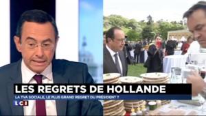 """Regrets de Hollande sur la TVA sociale : """"L'anti-sarkozysme, le pêché originel"""" du chef de l'Etat"""