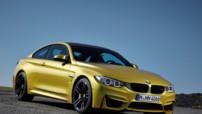 BMW M4 Coupé, lancé en 2014 avec moteur 6 cylindres 3,0 litres 430 ch.