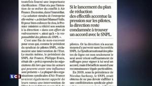 """""""Chienlit"""", """"Brexit""""... la tourmente Air France et l'avenir du Royaume-Uni dans l'UE en Une des journaux"""