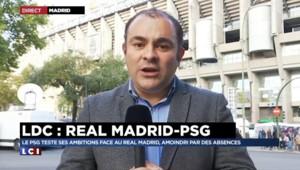 Football : test grandeur nature pour le PSG ce mardi face au Real Madrid