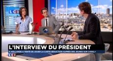 """François Hollande en """"président des bobos"""" sur Canal +"""