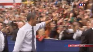 """""""L'Amérique et vous"""" : en campagne, Obama est bien entouré"""