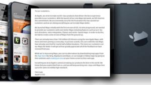 La lettre de Tim Cook s'excusant après les déboires d'Apple Maps.