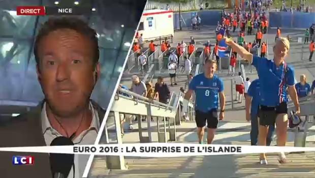 Les Islandais mènent un match parfait et éliminent les Anglais