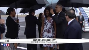 Obama accueilli comme une star à Cuba