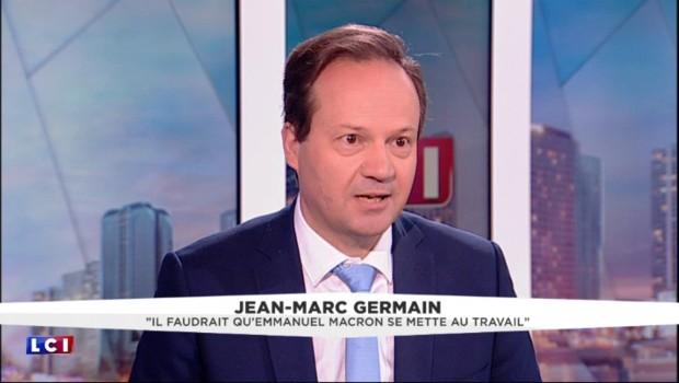 """Quand Germain tacle Macron : """"Il est dévoré par son ambition, il faut qu'il se mette au travail"""""""