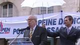 Le Pen réclame le retour de la peine de mort