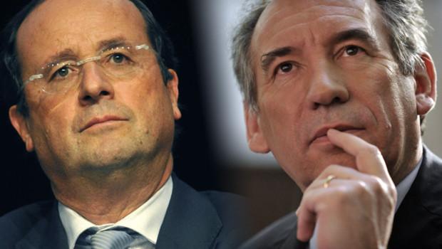 François Hollande François Bayrou