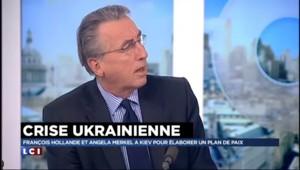 """Hollande et Merkel à Kiev : """"Pas de marge pour une négociation"""" pour Vincent Hervouët"""