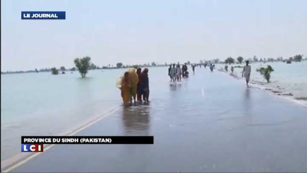 Inondations au Pakistan : 371 morts et 4,5 millions de sinistrés