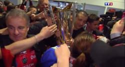Le 13 heures du 3 mai 2015 : Coupe d'Europe de rugby : Toulon en fête - 682.7859999999998