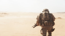 Un militaire américain (illustration)
