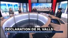 """Valls et la mixité sociale : """"Le seul effet de ces annonces c'est de faire monter le FN"""""""