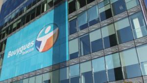 bouygues telecom bureaux immeuble enseigne