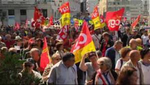 Défilé syndical 1er mai Marseille