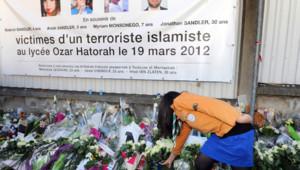 Ecole Ozar Hatorah de Toulouse : hommage aux victimes abattues par Mohammed Merah le 19 mars 2012