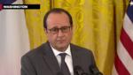François Hollande à la Maison Blanche le 24 novembre 2015 aux côtés du Président Obama