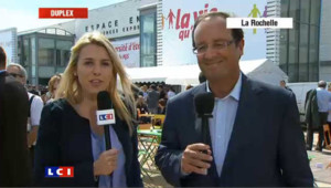 """Hollande : """"Il faut une incarnation"""" au PS"""