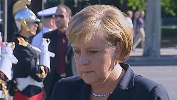 LCI-TF1, Angela Merkel à Paris le 25 aout 2006