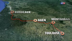 Le 20 heures du 23 octobre 2013 : Bient�ne ligne �rande vitesse entre Bordeaux et Toulouse - 616.9559999999999