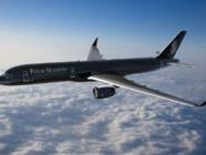 Le groupe hôtelier Four Seasons a aménagé un Boeing 757 pour pouvoir faire voyager ses clients dans le monde entier.