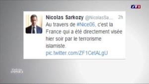 Attentat de Nice : Sarkozy, Juppé, les politiques réagissent sur les réseaux sociaux
