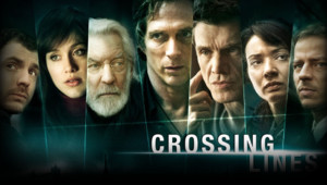 "La série TV ""Crossing Lines"" avec Marc Lavoine, William Fichtner et Donald Sutherland."