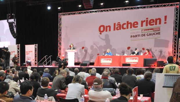 Le Parti de gauche de Jean-Luc Mélenchon tient son congrès à Bordeaux les samedi et dimanche 22 et 23 mars 2013.