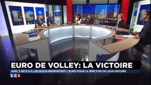"""Les volleyeurs champions d'Europe : """"Le public français va vouloir qu'on gagne à chaque fois"""""""